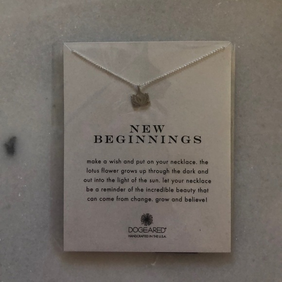 Dogeared Jewelry - NWT Dogeared New Beginnings Necklace